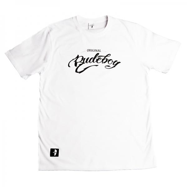 T-SHIRT RUDEBOY biały